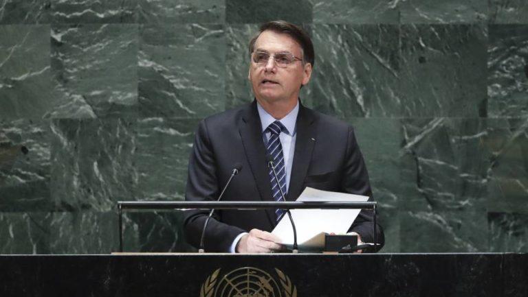 """Bolsonaro: """"Es una falacia decir que la Amazonia es patrimonio de la humanidad"""