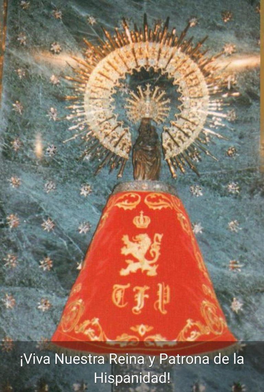 ¡Viva nuestra Reina y Patrona de la Hispanidad