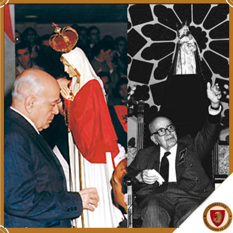 Plínio Corrêa de Oliveira en el día de su nacimiento