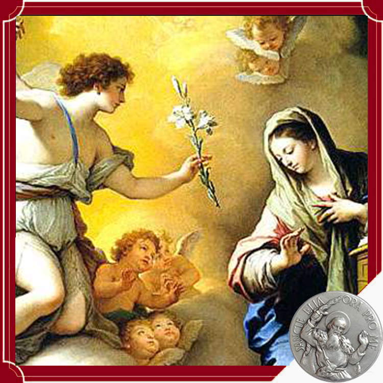 La contemplación de la Santísima Virgen y la Anunciación   Excerpta de conversación de 12 de septiembre de 1974