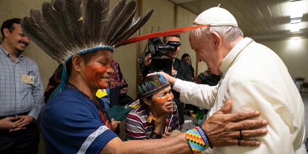 El papa Francisco pide perdón por el robo de estatuas de la Pachamama