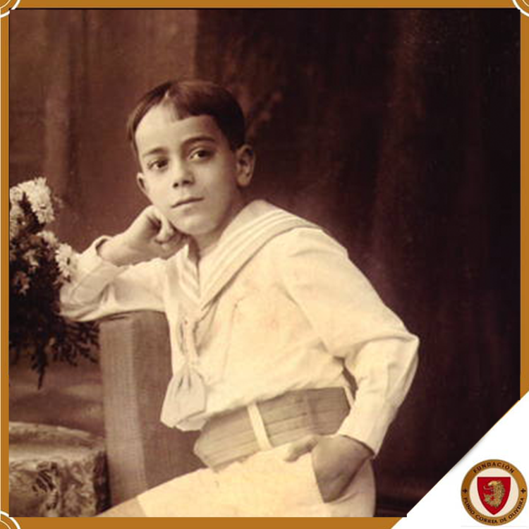 Plinio Corrêa de Oliveira cultivó desde su infancia, los más excelentes valores cristianos
